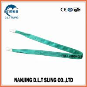 China duplex sling ,webbing sling ,web sling ,  WLL 2T ,   safety factor 7:1  , According to EN11492-1 Standard,  CE,G wholesale