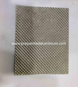 China Alloy 1060 Diamond pattern embossed aluminum sheet used for Decoration wholesale