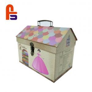 China Original Design Decorative Hot Stamping Surface Treatment  Cardboard Suitcase Box on sale