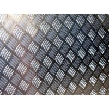 China 6061 T6 Grade Aluminum Sheet Metal 4 X 8 Diamond Plate 2000-3000mm Length wholesale