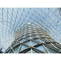 China Metal Building Curved Steel Roof Trusses High Anti Rust Performance on sale
