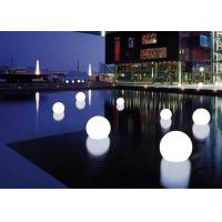 Custom Multi Color LED Flash Light Floating Ball Rechargeable Lithium Battery Manufactures