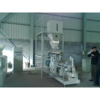 China 600kg/h double screw extruder Vietnam fish feed machine price wholesale