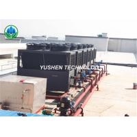 China 62 DBA Noise Level Heat Pump Heating And Cooling AC ASHP Units With Two Fans wholesale