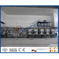 China 3000-4000BPH Soft Drink Production Line , Beverage Production Process Semi Automatic Soda Filling Machine wholesale