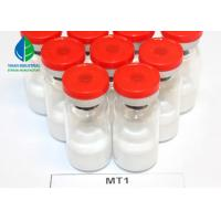 China MT1 Tanning Injections Peptides Melanotan - 1 White Powder 10mg/vial with Good Effect wholesale