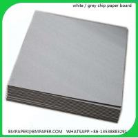 China Hot Sell Grey Color Decorative Cardboard Paper Sheets on sale