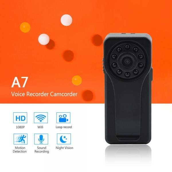 Quality 2018 New Launched Smart and Fashion Mini DV Voice Recorder WiFi P2P Camera Full HD 1080P Portable Digital Audio Recorder for sale