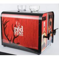 China Two Bottle Liquor Double Shot Chiller Fast Cooling With Customized Sticker on sale