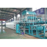 China Fully automatic Paper Pulp Fruit Tray Production Line Paper Pulp Molding Machine wholesale