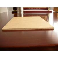 China Fireproof Poplar or Pine Plain 16mm 18mm MDF Sheet / Raw MDF Board for furniture wholesale