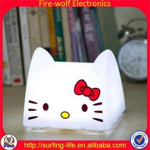 China 2014 new Cute night light.Cat night light manufacture.Save energy cat night light factory wholesale