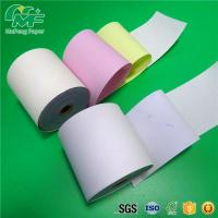 China Laser Printers NCR Carbonless Carbon Paper Roll For POS Printers / Invoices wholesale