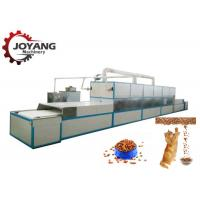 China High Efficiency Conveyor Belt Microwave Drying And Sterilization Machine For Pet Foods wholesale