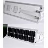 China Integrated 20W Solar Street Light Aluminum Alloy Waterproof Lighting For Street wholesale