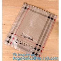 China Pencil Zipper Packing Bag Clear PVC Pencil Packing Bag Slider, PVC Slider Zipper Bag For Make Up For Holographic Laser wholesale
