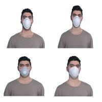 China Fluid Repellent  Disposable Protect Mask Cup Shape Hygienic Skin Friendly wholesale