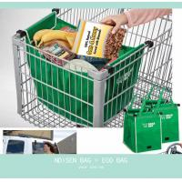 China Clip To Cart Shopping Bag-2 Pack Bag on sale