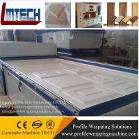 China automatical woodworking membrane vacuum press machinery wholesale