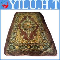 China machine tuft floral axminster printed brushed mosque carpets underlay from thailand wholesale