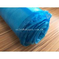 China Blue High Absorbent EPE Foam Sheet OEM Silent Flooring Underlay PE Film Laminating Floor wholesale