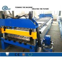 China Single Decking Roof Panel Roll Forming Machine , Metal Roof Sheet Roll Former Machine wholesale