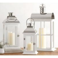 Buy cheap Candleholders Small Dapper Stainless Steel Candle Lantern Indoor Outdoor Yard from wholesalers