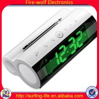 China KL-3306B Electronic Alarm Clock + Speaker + Radio for mother's day Cheapest gift factory novelty alarm clock radio on sale