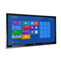 China University Teaching Flat Touch Screen Monitor , 70 Inch Learning Monitor Mit Touchscreen wholesale