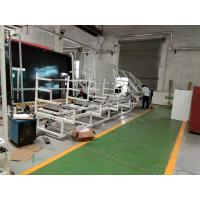 China Compact Structure Spacer Bending Machine , 12 Sets Of Racks Green Color wholesale
