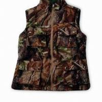 Buy cheap Reversable Hunting Shooting Vest Hunting Set Camo Blaze Orange Fleece Hunting from wholesalers