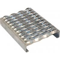 China 2mm Galvanized Perforated Metal Stair Treads , Grip Strut Safety Grating wholesale