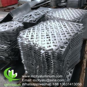 China China supplier Customized Aluminum Panel , Aluminum Interior Panels Wall Cladding wholesale