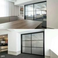 China smart glass partition wall ebglass wholesale
