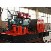 China 10t pulling capacity best sale wire rope diesel winch for Marine wholesale