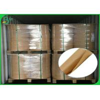 Buy cheap Eco Friendly Large Kraft Paper Roll , 60 Gsm 120gsm Food Grade Kraft Paper from wholesalers