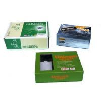 China Folding Shipping Printed Cardboard Boxes , Cardboard Packaging Boxes Free Sample wholesale
