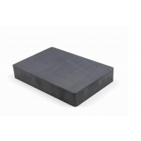China Customized Large Hard Ferrite Block 150X100X25mm Magnets High Strength Corrosion Resistance wholesale