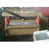 China Building Material 800 Aluminum Roof Glazed Tile Making Machine Floor Sheet on sale