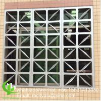 China Outdoor  Aluminium Panel Facade  Perforated    By 3mm Metal   Round Hold Pattern wholesale