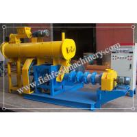 China Blue/yellow Fish Feed Extruder FY-DSP60 with 200kg/h production wholesale
