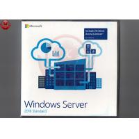 China Online Activate Windows Server 2016 Standard Product Key Sticker+DVD Medium wholesale