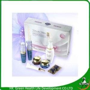 China Lot Liangbangsu Professional Whitening Beauty Cream Facial Cleanser Cream Set wholesale