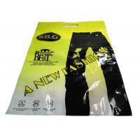 China Perforated Transparent Plastic Garment Packaging Bags For Pants , Gravure Printing wholesale