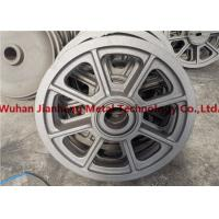 China Construction Machines Wheel 500kg Alloy Steel Casting wholesale
