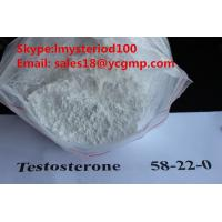 China Pharmaceutical Bodybuilding Male Enhancement Steroids Raw Testosterone Powders CAS 58-22-0 wholesale