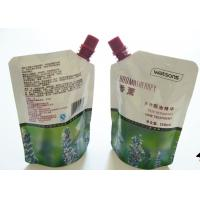 China Colorful Printing Liquid Spout Bags , Customized Stand Up Pouch With Spout wholesale