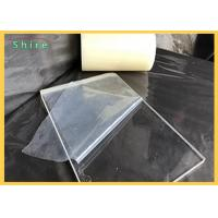 China Transparent Plastic Sheet Protective Film For Plactic Board / PVC PE Protection Film wholesale