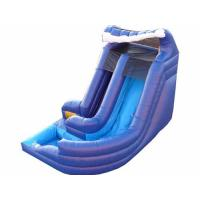 China Inflatable Water Slide / inflatable giant wet slide/ Giant Curvy Water Slide wholesale