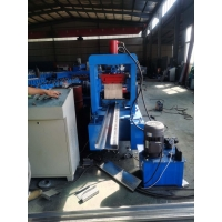 China 11kw 80mm Shaft 3mm C Purlin Machine With Cutting System on sale